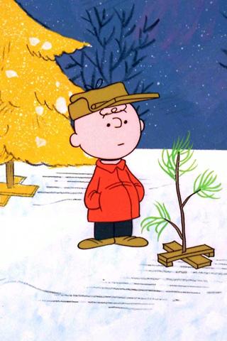 charlie brown xmas tree